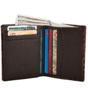 Leather Slim RFID Blocking Multi Slot Card